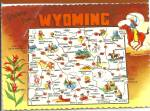 Wyoming State Map cs8560