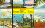 Multi View Card of Alaska