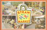 Click here to enlarge image and see more about item cs8956: World Famous Straw Market in the Bahamas cs8956