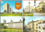 Lodz Poland Five Views Buildings