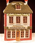 Click to view larger image of M.Fezziwig Warehouse Dickens Dept 56 (Image1)