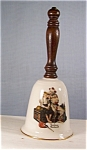 Click here to enlarge image and see more about item d0252:  1st Edition Rockwell Bell by Gorham