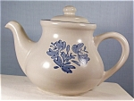 Click here to enlarge image and see more about item d0623: Pfaltzgraff Yorktowne Teapot