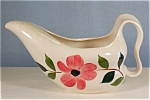 Click here to enlarge image and see more about item d0783: China Gravy Boat with Floral Decoration