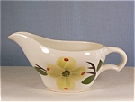 China Gravy Boat with Floral Decoration