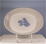 Click here to enlarge image and see more about item d0887: Pfaltzgraff Yorktowne 10 inch Oval Vegetable Bowl #241
