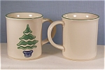Click here to enlarge image and see more about item d0919: Pfaltzgraff Nordic #289 Coffee MugsLot of Two (2)