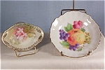 Click here to enlarge image and see more about item d1113: German Sauce and Nut Dish Lot of (2)