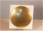 Click here to enlarge image and see more about item d1152: Masonic Temple 50th Anniversary Paperweight 1930-1980