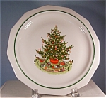 Click here to enlarge image and see more about item d1252: Paltzgraff Christmas Heritage Dinner Plates (2)