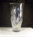 Click here to enlarge image and see more about item d1666: Irish Rose Lead  Crystal 8 in. Vase Beautiful