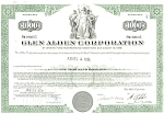 Click here to enlarge image and see more about item d1841: Glen Alden Corp Debenture Certificate 1970 d1841