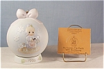 Click here to enlarge image and see more about item d2026: Precious Moments 1995 Porcelain Hanging Ornament