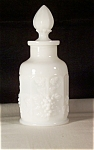 Click here to enlarge image and see more about item d2125: Westmoreland Paneled Grape Milk Glass Perfume HTF