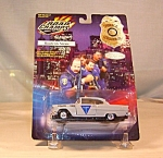 Click here to enlarge image and see more about item d2757: St Louis County Road Champs Police Car