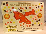 Click here to enlarge image and see more about item d2794: Reese's Pieces Vintage Airplane Bank