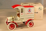 Click here to enlarge image and see more about item d2817: 1905 Delivery Car Bank Ertl Atlas Oil Co