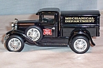 Click here to enlarge image and see more about item d2939: Rock Island Railroad Model A Truck Coin Bank