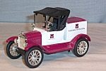 Click here to enlarge image and see more about item d2845: Ertl 1918 Ford Runabout Coin Bank Penn Bank