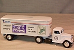 Click here to enlarge image and see more about item d2856: Ertl 1937 Ford Tractor Trailer USPS