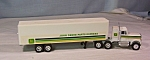 Click here to enlarge image and see more about item d2859: John Deere Parts Express Ertl Tractor Trailer