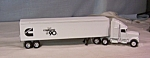 Click here to enlarge image and see more about item d2863: Cummins Ertl Tractor Trailer