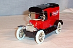 Click here to enlarge image and see more about item d2869: Ertl 1913 Ford Model T Coin Bank Turkey Hill