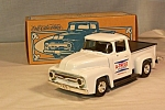 Click here to enlarge image and see more about item d2891: 1956 Ford Pickup by Ertl Coin Bank