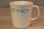 Click here to enlarge image and see more about item d2898: Corelle Morning Blue Mug by Corning