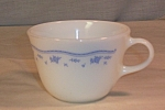 Click here to enlarge image and see more about item d2899:  Corning  Morning Blue Coffee by Pyrex