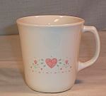 Click here to enlarge image and see more about item d2900: Corelle Forever Yours Mug by Corning