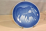 Click here to enlarge image and see more about item d2920: 1972  Bing and Grondahl Mother's Day Plate