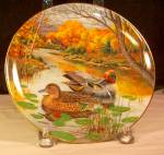 Click here to enlarge image and see more about item D3187: The Green-Winged Teal Collector's 1987 Plate