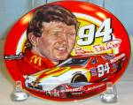 Click here to enlarge image and see more about item D3367: Sports Impressions Hot and Fast Bill Elliott Plate