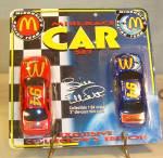 Click here to enlarge image and see more about item d3415: McDonalds #94 Bill Elliott Two Car Package