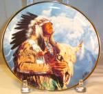 Hear Me Great Spirit Native American Collector's Plate