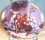 Mystic Warrior Native American Collector's Plate
