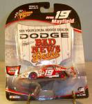 Click here to enlarge image and see more about item d3449: Jeremy Mayfield #19 1:64  Nascar Diecast Promo Pkg