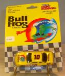 Click here to enlarge image and see more about item d3457: Bull Frog Sunblock #10  Nascar Diecast 1:64   Promo Pkg