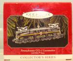 Click here to enlarge image and see more about item d3733: Hallmark Pennsylvania GG-1 Locomotive Ornament