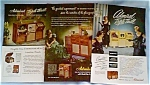 Click here to enlarge image and see more about item dec011: Admiral Brand Television Set Ads Lot of 5 dec011.Late 1940s