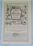 American Sheet and Tin Plate Ad 1927