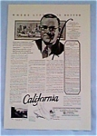 Californians Inc. Promo Ad from 1927