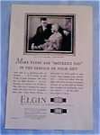 Elgin watch Ad 1927