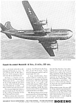 Click here to enlarge image and see more about item feb0179: Boeing WWII C 97 Flight Record Ad feb0179