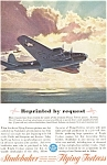 Studebaker Flying Fortress WWII  Ad feb0183