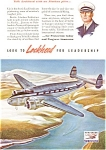 Lockheed Pan American Airways Ad