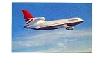 British Airways L-1011 Postcard feb0254