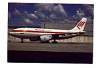 Martinair Holland A310 Postcard feb0258