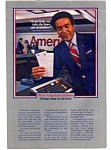 Click here to enlarge image and see more about item feb0861: American Airlines Reservation Clerk Ad feb0861